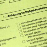 Anhörung im Bußgeldverfahren – Tipps vom Anwalt