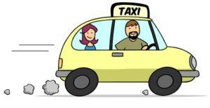 Haben Sie als Taxifahrer Punkte in Flensburg?
