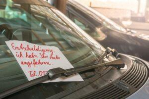 Haben Sie Fahrerflucht begangen und benötigen dringend rechtlichen Rat?