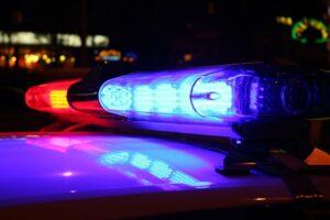 Illegales Autorennen Polizeiflucht